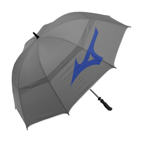 Mizuno Dual Canopy Umbrella- Grey / Blue