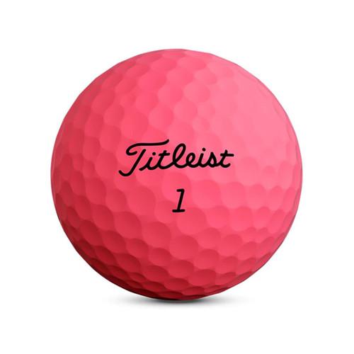 Titleist Velocity Matte Pink Dozen Golf Balls 2020