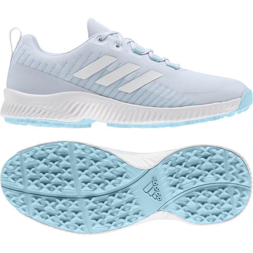 Adidas Womens Response BOUNCE 2 SL Golf Shoes - Halo Blue / White / Hazy Sky
