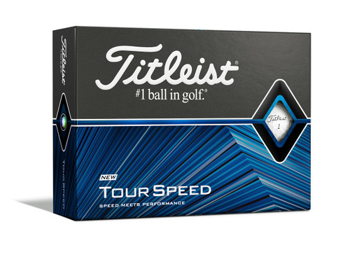 Titleist Tour Speed Dozen Golf Balls - White
