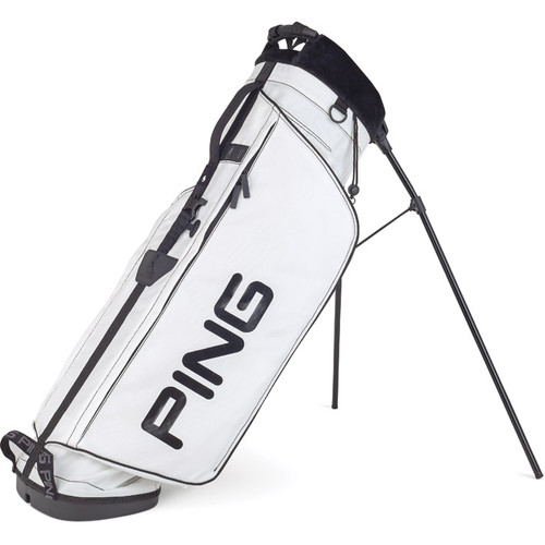 PING Hoofer L8 Stand Bag - White