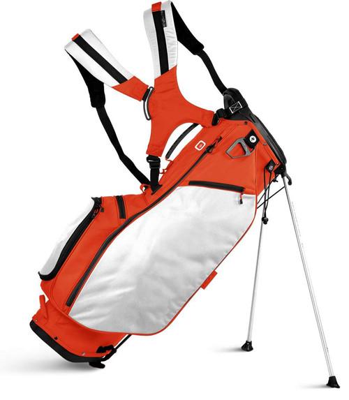 Sun Mountain Collegiate Stand Bag - Orange / White