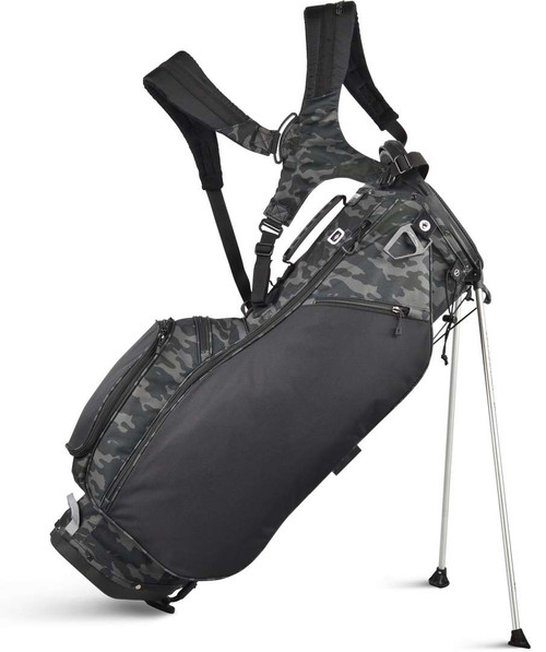 Sun Mountain Collegiate Stand Bag - Black / Camo