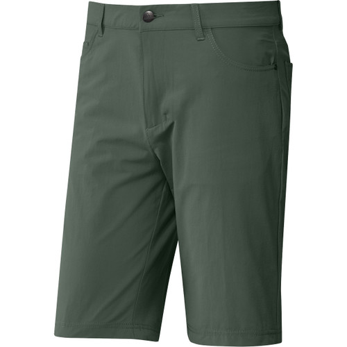 "Adidas GO-TO Five Pocket 10"" Shorts - Green Oxide"