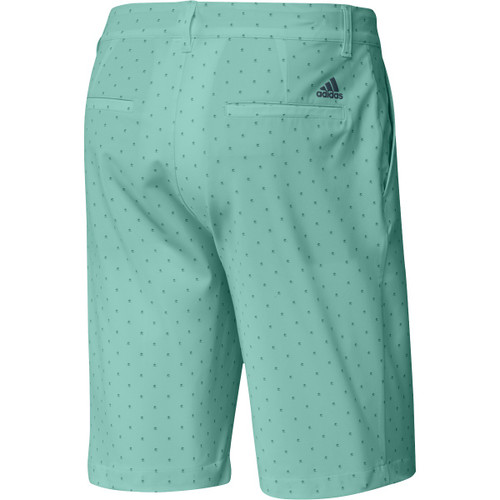 "Adidas Ultimate 365 Pine Print 10"" Shorts - Acid Mint"
