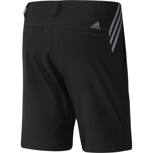 "Adidas Ultimate 365 3-Stripe 8.5"" Shorts - Black"