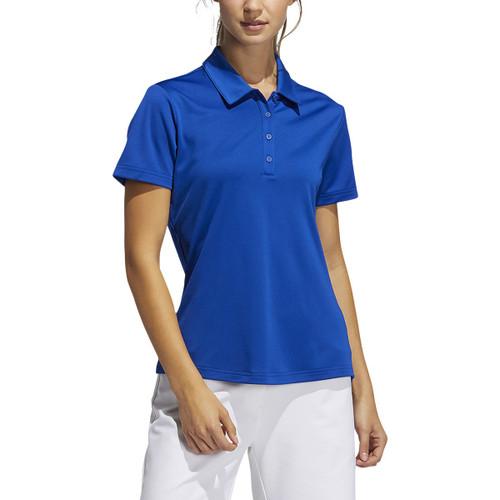 Adidas Womens Performance Short Sleeve Polo - Collegiate Royal