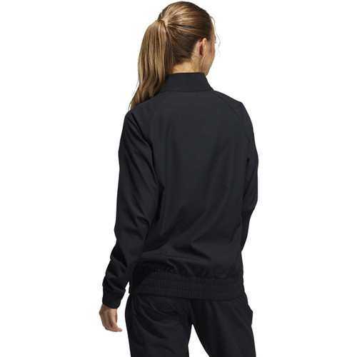 Adidas Womens Essential Full Zip Jacket - Black