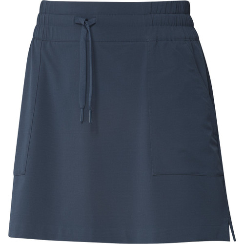 "Adidas Womens 16"" GO-TO Skort - Crew Navy"