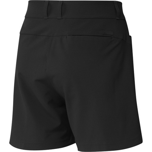 "Adidas Womens 5"" Solid Shorts - Black"