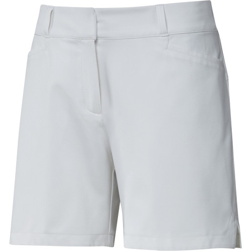 "Adidas Womens 5"" Solid Shorts - White"