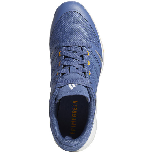Adidas EQT Spikeless Golf Shoes - Crew Blue / Crew Blue / Yellow