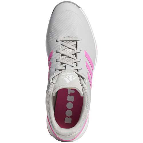 Adidas Womens EQT Spikeless Golf Shoes - Grey Two / Screaming Pink / Grey Three