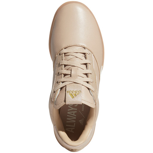 Adidas Womens Adicross Retro Golf Shoes - Ash Pearl / Gold / Chalk White