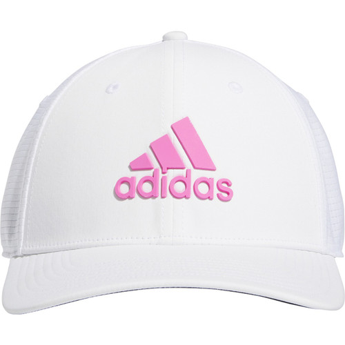 Adidas Tour Fitted Golf Cap - Screaming Pink