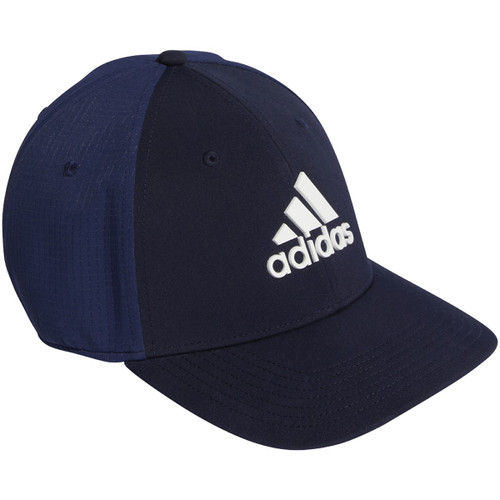 Adidas Tour Fitted Golf Cap - Team Navy Blue / White