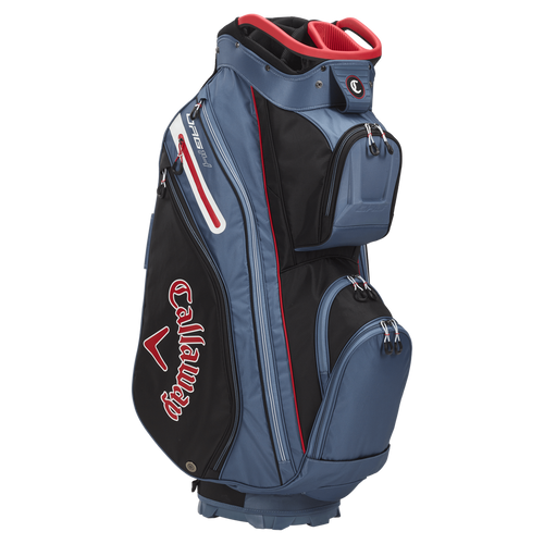 Callaway ORG 14 Cart Bag 2021 - Black / Shale / Red