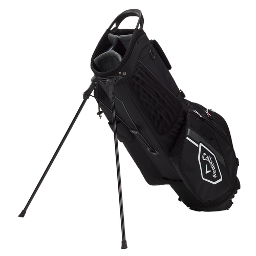Callaway Chev Stand Bag 2021 - Black / Charcoal / White