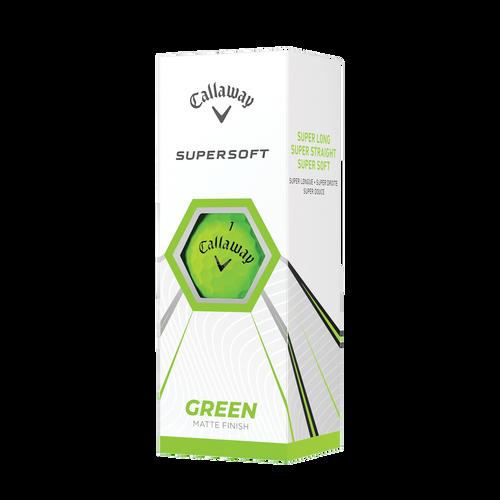 Callaway Supersoft Matte 21 Dozen Golf Balls - Green