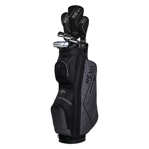 Callaway REVA Womens 8 Piece Complete Set - Black