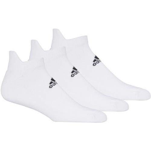 Adidas 3 Pack Ankle Socks - White