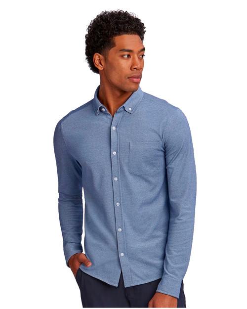 Cutter & Buck Reach Oxford Shirt in Indigo