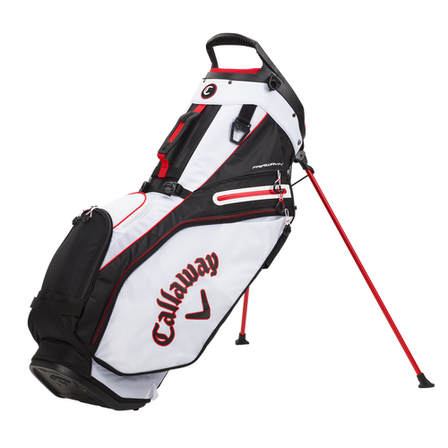 Callaway Fairway 14 Stand Bag 2021 - White / Black / Red