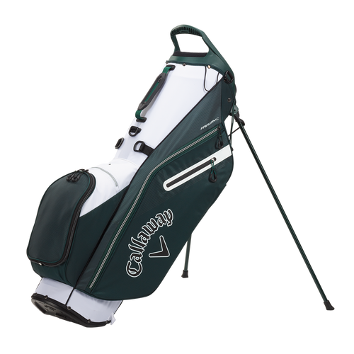 Callaway Fairway C Double Strap Stand Bag - Hunter / White / Black