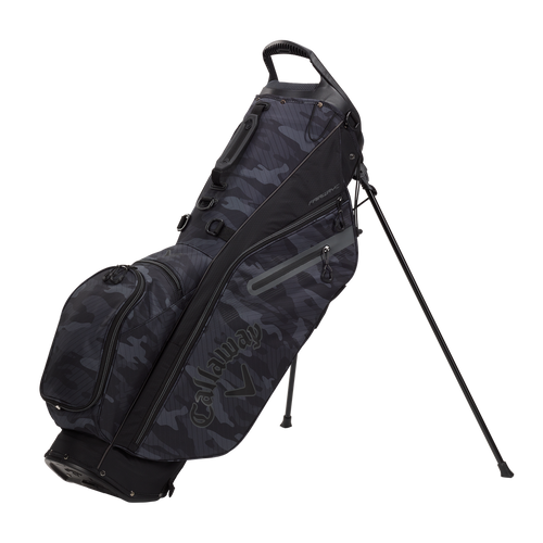 Callaway Fairway C Single Strap Stand Bag - Camo / Black / Charcoal
