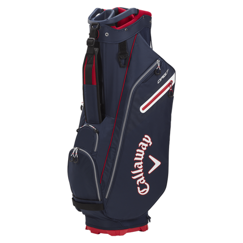 Callaway Org 7 Cart Bag 2021 - Navy / Red / White