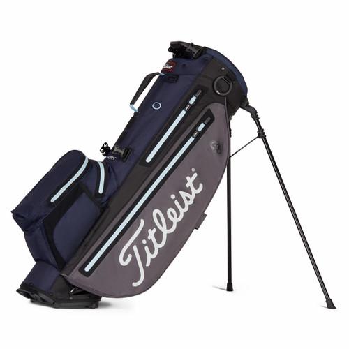 Titleist Players 4 Plus StaDry Stand Bag - Graphite / Navy / Sky