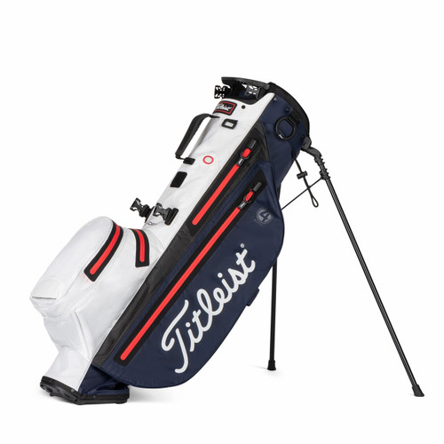 Titleist Players 4 StaDry Stand Bag 2021 - Navy / White / Red