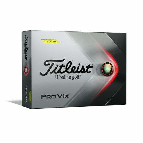 Titleist Personalized Pro V1x Yellow Dozen Golf Balls 2021