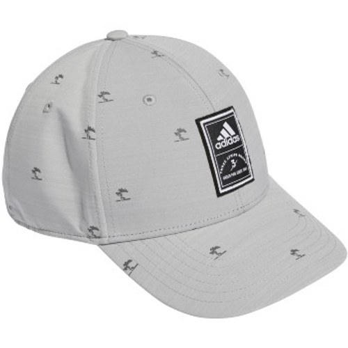 Adidas Allover Print Tree Hat - Grey Two
