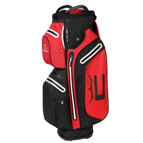 Cobra UltraDry Pro Cart Bag - Black / High Risk Red