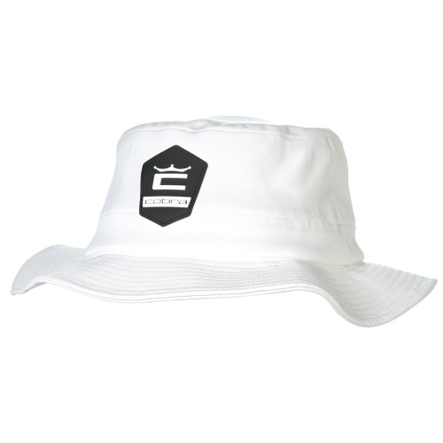 Cobra Crown C Sun Bucket Hat- Bright White