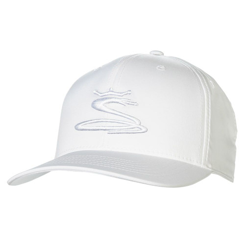Cobra Tour Snake 110 Cap - Bright White