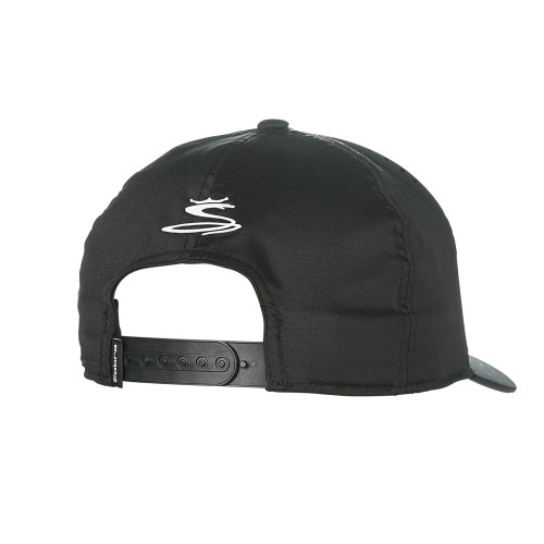 Cobra Youth Crown Snapback Cap - Black / White