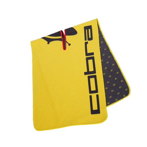 Cobra Crown C Players Towel - Black / Yellow