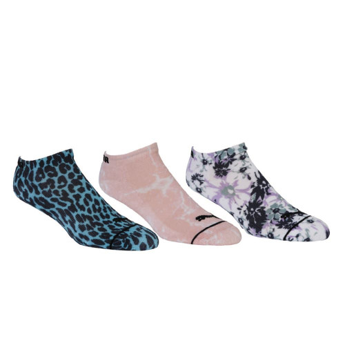 Puma Womens Fusion No Show Socks - 3 Pair Pack