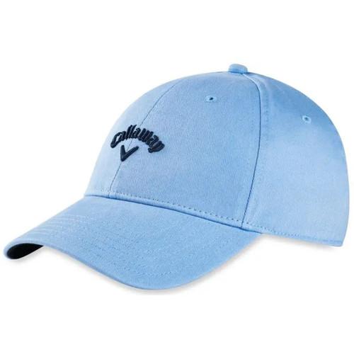 Callaway Heritage Twill Adjustable Golf Cap 2021 - Light Blue