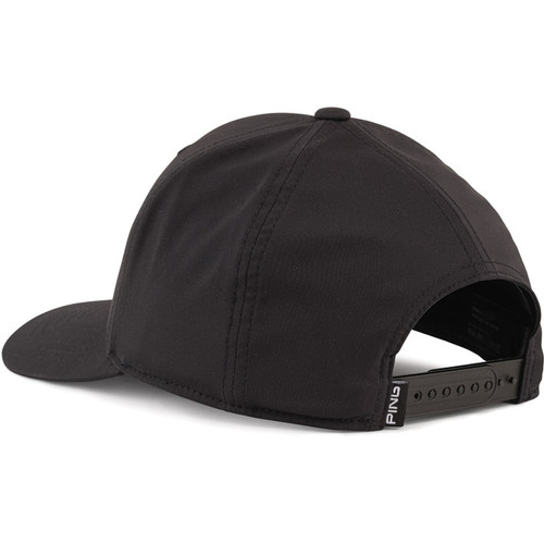 PING Stacked PYB Cap - Black / White