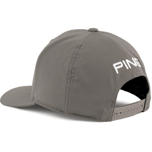 PING Debossed PYB Golf Cap - Grey / White