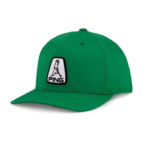 PING Mr. PING Blossom Snapback Golf Cap - Green