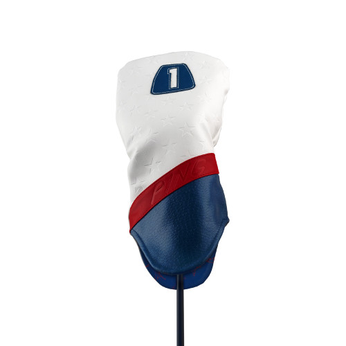 PING Stars & Stripes Driver Headcover - Red / White / Blue