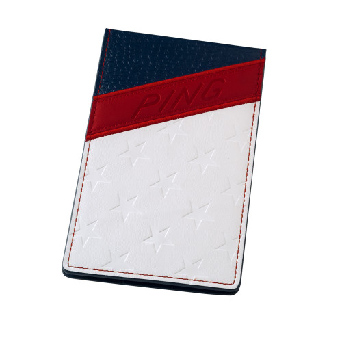 PING Stars & Stripes Yardage Book Cover - Red / White / Blue