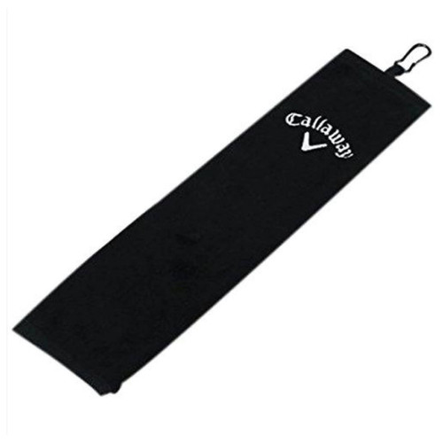 "Callaway Golf 16"" x 21"" Tri-Fold Towel - Black"