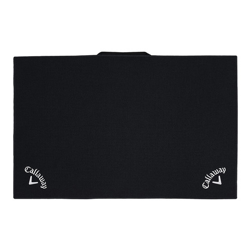 "Callaway Players 20"" x 30"" Microfiber Towel - Black"