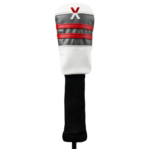 Callaway Vintage Hybrid Headcover - White / Charcoal / Red