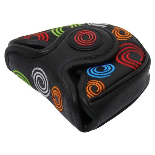 Odyssey Tour Swirl Mallet Putter Headcover - Black